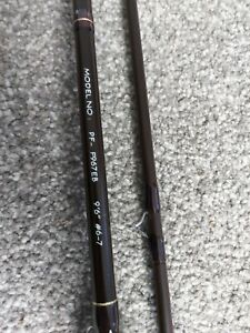 Diawa fly rod and Ryobi Reel with flies - Good condition