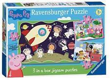 Ravensburger Peppa Pig 3 (15 20 25pc) Jigsaw Puzzles
