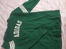 Adidas green Long Sleeve shirt