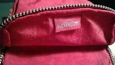 KIPLING small red canvas shoulder bag with adjustable strap