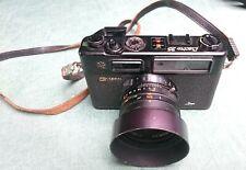 YASHICA ELECTRO 35 GT SCHWARZ Rangefinder Kamera mit Yashinon DX 1 :1,7,  f=45m