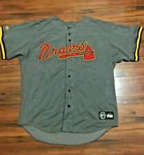 New listing Vintage 90's Majestic Atlanta Braves MLB Baseball Jersey Rare XL