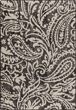 """2x8 Milliken Cashmira Wrought Iron Casual Floral Area Rug - Approx 2'1""""x7'8"""""""