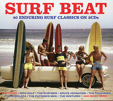 SURF BEAT - 2 CD BOX SET - MISIRLOU, TONKY, TEQUILA & MANY MORE
