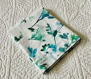 Sferra Totolla Water Color Floral Print Cotton Percale Standard Pillow Sham EUC