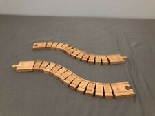 Thomas & Friends Wooden Train Wacky Track 2 Piece Set!