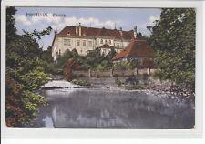 AK Protivin, Protiwin, Zamek, Schloß 1915
