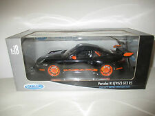 PORSCHE 911 (997) GT3 RS WELLY COLLECTION  SCALA 1:18