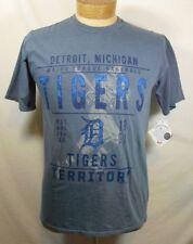Genuine MLB Merchandise Detroit Tigers Territory Short Sleeve Shirt NWT Sz MED