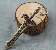 DZ685 Kayle League of Legends LOL Game Anime Weapon Metal Model Key Ring 12cm ☆