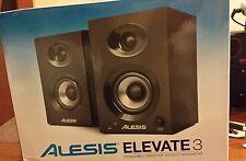 New! Alesis Elevate 3 Studio Monitor (Pair)