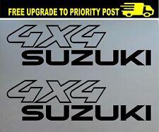 SUZUKI 4wd 4X4 DECALS pair stickers suit sierra jimny vitara
