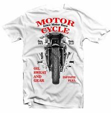 B&C Motorcycle Short Sleeve T-Shirts for Men