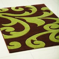 New Quality Large Small Thick Modern Hand Carved Carpet Rug Rich Colour Runner