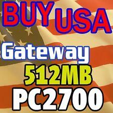 512MB Gateway 4012GZ 4024GZ 450RGH 4520GZ Memory RAM