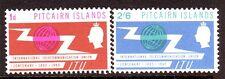 Pitcairn Islands Sc# 54-55 Mint NH VF ITU Centenary