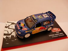 voiture 1/43 IXO altaya MONTE CARLO : SKODA FABIA WRC 2006 Red Bull Panizzi