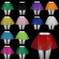 NEU! Tütü Tutu Tüllrock Rock Ballettkleid Kinder XS-S  3 Lagen Party Freizeit