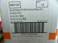 "10 New Standard Abrasives 882125 TS A/O 3"" x1/4""  Unitized Wheels  Free Ship"