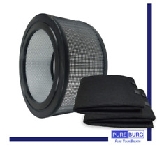 Pureburg Replacement 1 x Hepa Filter & 2 x Wrapping Carbon Pre-Filters for Honey
