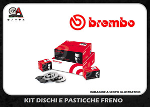 KIT DISCHI + PASTIGLIE FRENO BREMBO FORD FIESTA VI 1.4 TDCi 50KW DAL 01.09 POST