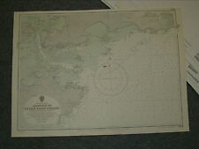 Vintage Admiralty Chart 1786 China - Approach To Ch'Uan-Chou Chiang 1956 edn