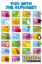 EDUCATIONAL - Alphabet Poster Print, 24x36