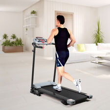 Folding Motorized Electric Treadmill Running Machine Heavy Duty Automatic Sensor