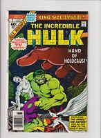 Incredible Hulk Annual #7 VF/NM 9.0 Marvel Comics 1978 John Byrne,Iceman & Angel