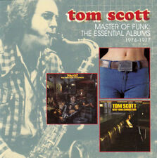 Tom Scott – Master Of Funk: The Essential Albums 1974-1977 2CD Raven 2013 NEW