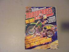 JANUARY 1995 MOTOCROSS ACTION MAGAZINE,MX DES NATIONS LOST,YAMAHA YZ250,KAW KX25