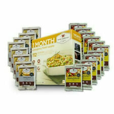 Wise Foods 1 One Month Emergency Food Supply $1.78 Per Serving 20+ Yr Shelf Life