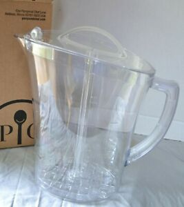 Pampered Chef FAMILY-SIZE QUICK-STIR® PITCHER - 1 Gallon of Favorite Beverages!