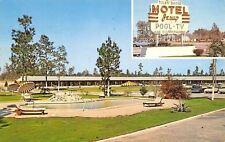 Motel Jesup Georgia~Art Deco Sign~Bath or Tub~Radio or TV 1963