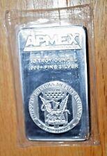 Apmex - 10 Oz Vintage Silver Bar - Sealed