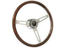 1978 - 1991 Ford Bronco S6 Classic Wood Steering Wheel Kit