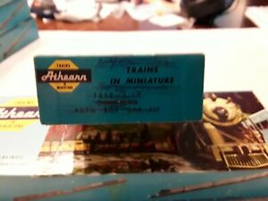BOX ONLY Vintage Athearn Southern Auto Box Car 1318.  BOX ONLY