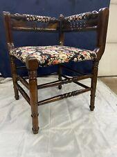 New listing Victorian walnut corner chair
