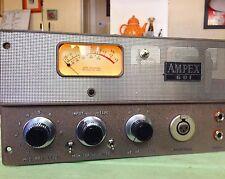 Vintage Stereo Ampex 601 600 602 Tube Mic Preamp TOTAL REBUILD STEREO RCA tubes