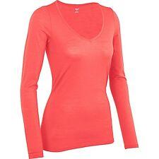 NEW Icebreaker Siren Sweetheart Base Layer Top, UPF 30+, Women's L - Merino Wool