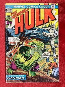 INCREDIBLE HULK #180 Marvel Bronze Comics 1st App Wolverine Cameo MVS Intact