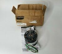 """DAYTON 4HZ66B Condenser Fan Motor, 1/20 HP, 1550 rpm, 60Hz, Shaft 5/16"""" x 5 3/4"""""""