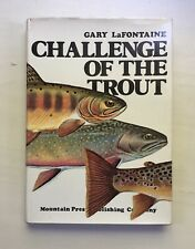 Challenge Of The Trout, Gary Lafontaine, Signed, First Edition