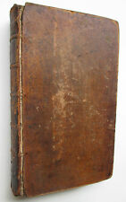 Adventures of Telemachus 1742 English 1st ed thus 2 vol in 1 w/ map & engravings