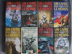 LDVELH (Livres Dont Vous Êtes Le Héros ) Quête du Graal Série Complète (8 tomes)