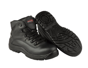 ARMA S3 WATERPROOF METAL FREE SAFETY BOOT, AIR SAFE BLACK SIZE 8