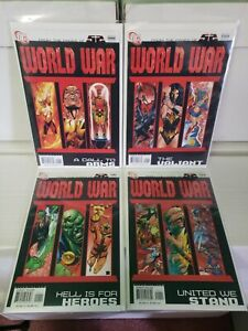 World War III 1-4 From The Pages Of 52 Full Set 1 2 3 4 DC comics 2007 (WW02)