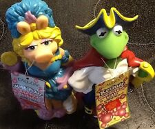 KERMIT and MISS PIGGY From Muppet Treasure Island Movie Bubble Bath Set