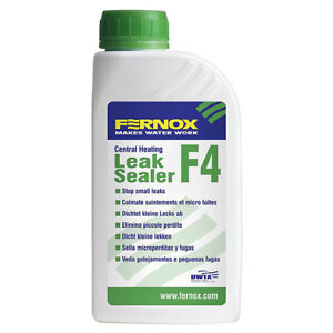 Fernox 56603 500ml F4 Leak Sealer - Fix Small Leaks in your Central Heating- LS1