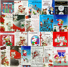 Great-Grandad / Great-Grandma Gran Nanna Christmas Cards - Various Designs
